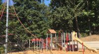 Our wonderful playground! Thanks to the many parents and community members who made it a reality!!!