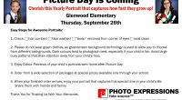 Photo Express will be at Glenwood Thursday, September 26 to take individual student photos.   Please click HERE  for their suggestions for a  Picture Perfect Photo!